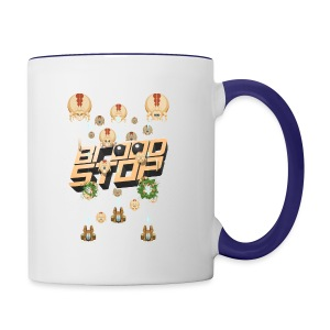 Brood Stop: Pew Pew Pew - Contrast Coffee Mug
