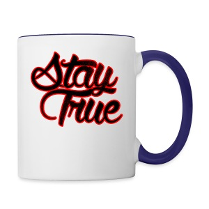 Stay True - Contrast Coffee Mug