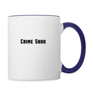 Crime Shug - Contrast Coffee Mug
