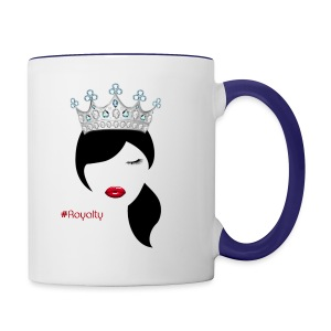 Hashtag Royalty - Contrast Coffee Mug
