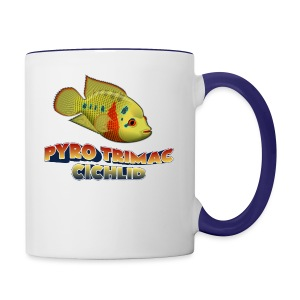 Pyro Trimac Cichlid Apparel - Contrast Coffee Mug