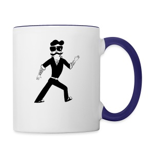 The Famous Mr Warrior - Contrast Coffee Mug
