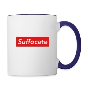 Suffocate - Contrast Coffee Mug