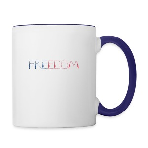 Freedom - Contrast Coffee Mug