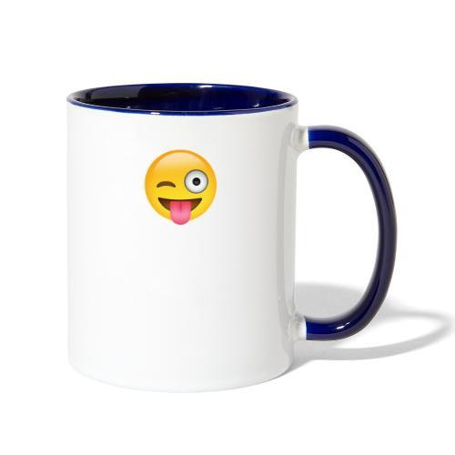 Crazy Love - Contrast Coffee Mug