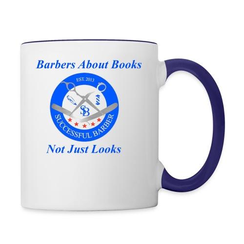 BarberShop Books - Contrast Coffee Mug