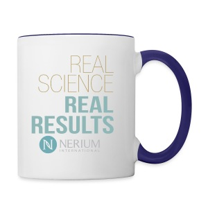 Real Science Real Results Nerium - Contrast Coffee Mug