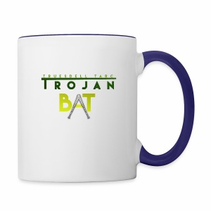 New Trojan Bat Logo - Contrast Coffee Mug