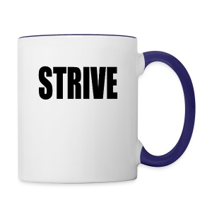 strive - Contrast Coffee Mug