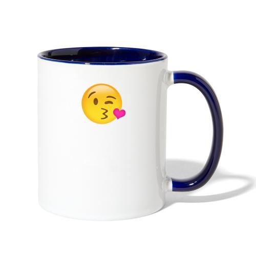 Sending Love - Contrast Coffee Mug