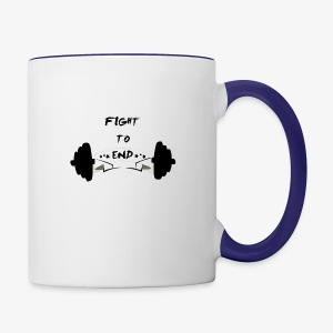 Fight To End - Contrast Coffee Mug