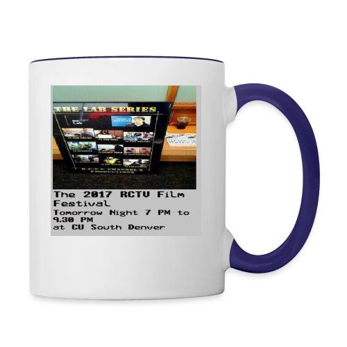 T Shirt 5 Front - Contrast Coffee Mug