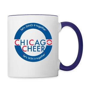 CHICAGO CHEER.com - Contrast Coffee Mug