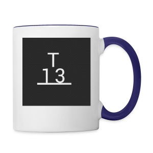 team 13 merch - Contrast Coffee Mug