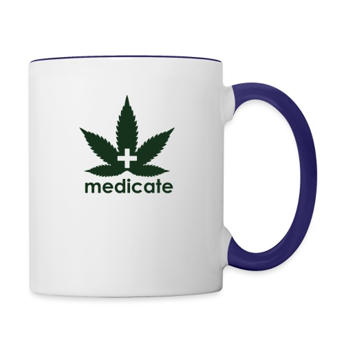 Medicate Supporter - Contrast Coffee Mug