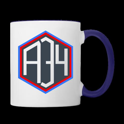 Adrian 34 LOGO - Contrast Coffee Mug