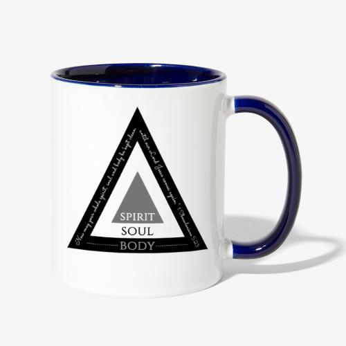 Spirit Soul Body - Contrast Coffee Mug