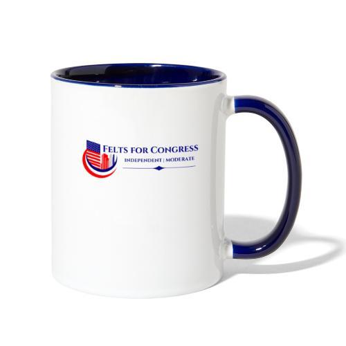 Felts For Congress Logo - Contrast Coffee Mug