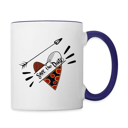Save the Date - Contrast Coffee Mug