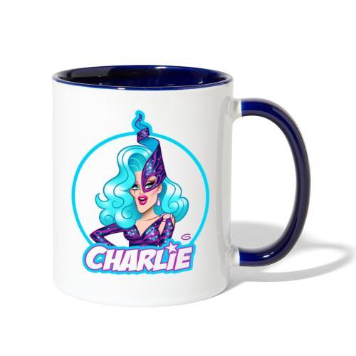 Dame Charlie Hides by Glen Hanson - Contrast Coffee Mug