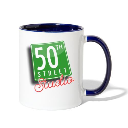 50th Street Studio LOGO - Contrast Coffee Mug