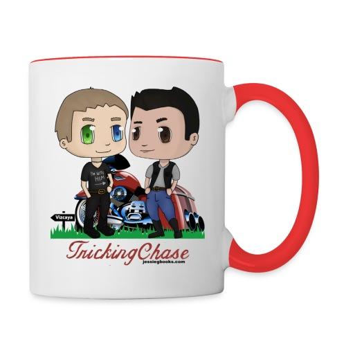 Tricking Chase Chibis - Contrast Coffee Mug