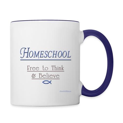 Homeschool Freedom - Contrast Coffee Mug