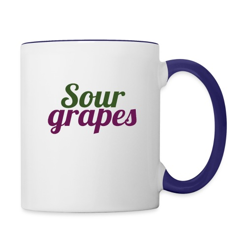 SourGrapes - Contrast Coffee Mug