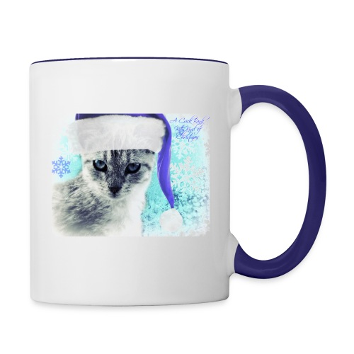 Grey's Blue Christmas - Contrast Coffee Mug