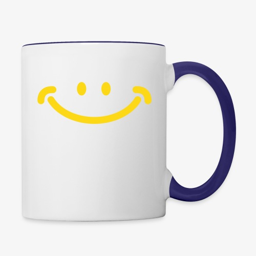 Happy Mug - Contrast Coffee Mug