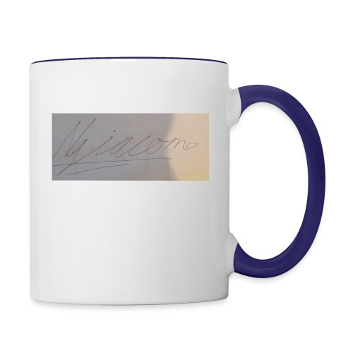 signature - Contrast Coffee Mug