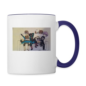 Nep and Friends - Contrast Coffee Mug