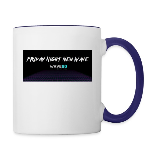 Friday Night New Wave - Contrast Coffee Mug