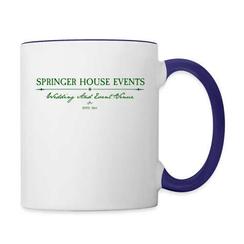 Springer House Events Sign Green - Contrast Coffee Mug