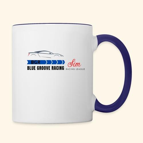 Blue Groove Racing SRL Black - Contrast Coffee Mug