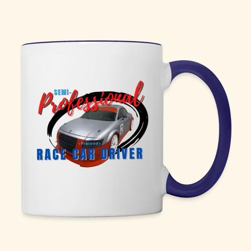 Semi-professional pretend GT3 driver - Contrast Coffee Mug