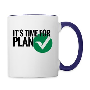 Time for Plan V(ertcoin) - Contrast Coffee Mug