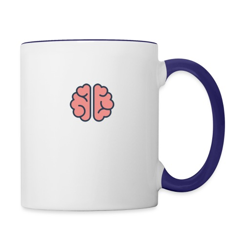 Mind Blank - Contrast Coffee Mug