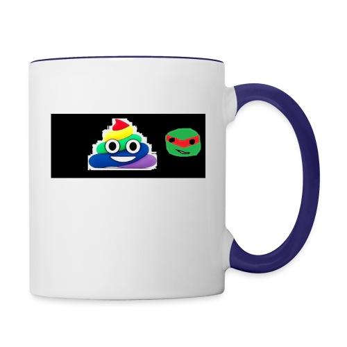 ninja poop - Contrast Coffee Mug