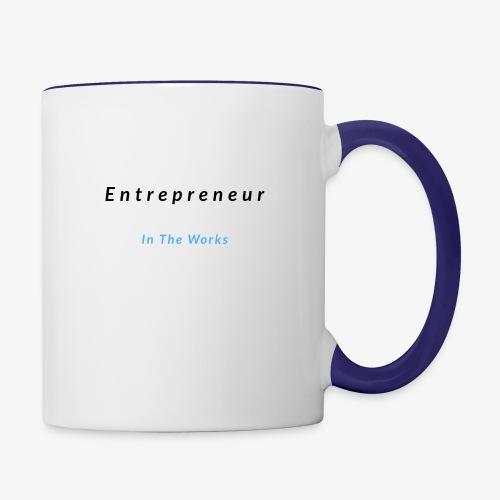 Entrepreneur In The Works - Contrast Coffee Mug