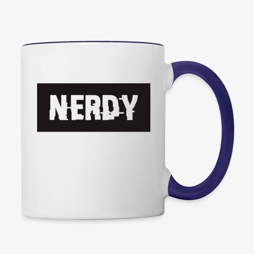 NerdyMerch - Contrast Coffee Mug
