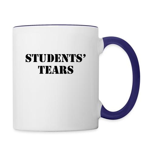 Student Tears - Contrast Coffee Mug