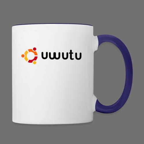 UWUTU - Contrast Coffee Mug