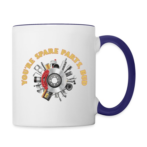 Letterkenny - You Are Spare Parts Bro - Contrast Coffee Mug