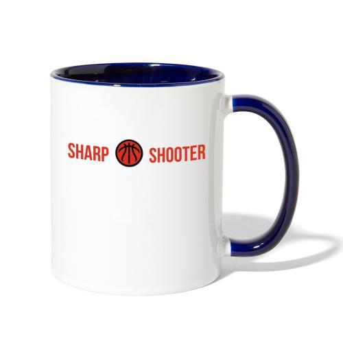 SHARP SHOOTER BRAND GREATEST OF ALL TIME - Contrast Coffee Mug