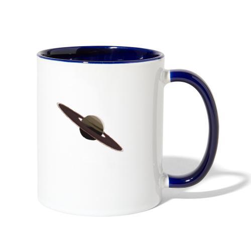 Saturn - Contrast Coffee Mug