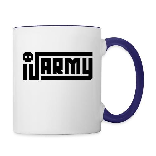 iJustine - iJ Army Logo - Contrast Coffee Mug