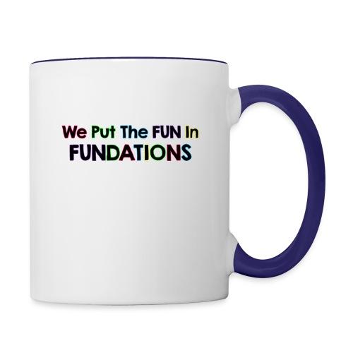 fundations png - Contrast Coffee Mug