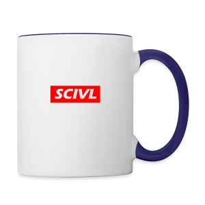 scivl-red - Contrast Coffee Mug