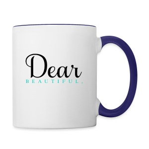Dear Beautiful Campaign - Contrast Coffee Mug